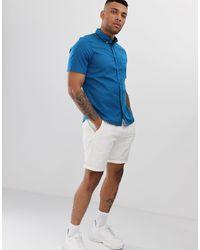 Camisa HUGO de hombre de color Blue