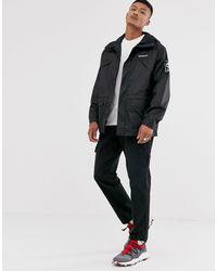Timberland Black Windbreaker Jacket for men