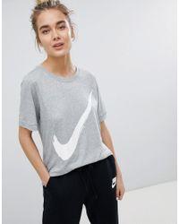 Nike Femme Virgule Shirt T PTOkuXiZ