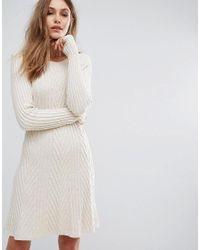 BOSS Orange Natural By Hugo Boss Willabelle Cable Knit Dress