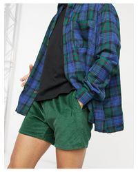 Shorts verdes ASOS de hombre de color Green