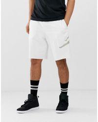 Nike - Pantaloncini bianchi di Nike in White da Uomo