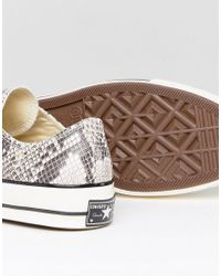 Converse - Chuck Taylor All Star '70 Snake Pack Hi Sneakers In Brown 158857c for Men - Lyst