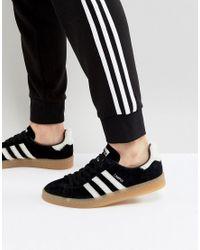 Adidas Originals Black Campus Sneakers for men