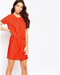 Y.A.S - Red Trine Twofer Dress - Lyst