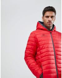 Kappa Red Bacrio Full Zip Training Jacket for men