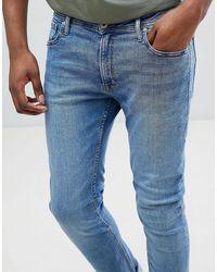 Intelligence - Jeans skinny di Jack & Jones in Blue da Uomo