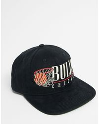 NBA Chicago Bulls Vintage Hoop - Cappellino snapback nero di Mitchell & Ness in Black da Uomo