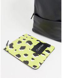 Черный Рюкзак Со Съемным Карманом Pop-work Calvin Klein для него, цвет: Black