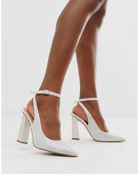 Precious - Chaussures ornées premium à talon haut ASOS en coloris Multicolor