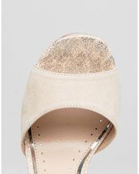 Miss Kg - Natural Summer Platform Sandal - Lyst
