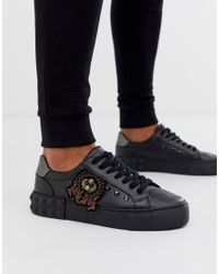 ASOS Trainers in Black for Men - Lyst