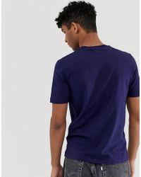T-shirt con bottoni di Love Moschino in Blue da Uomo
