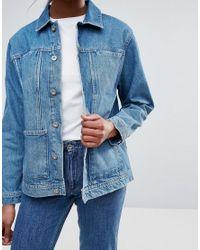 Bethnals | Blue Alfie Western Denim Jacket | Lyst