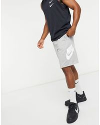 Nike Gray Alumni Shorts for men
