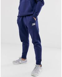 Tuta sportiva blu navy con logo di Nike in Blue da Uomo