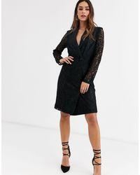 Vestido estilo americana UNIQUE21 de color Black