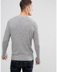 Jack & Jones Black Premium Twisted Knit for men