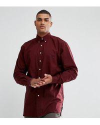 Polo Ralph Lauren - Red Tall Poplin Shirt In Burgundy for Men - Lyst