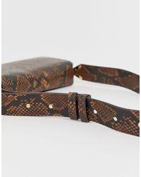 Qirassa - Sac bandoulière à imprimé peau ALDO en coloris Brown