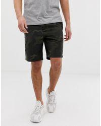 Barbour Green Bay Camo Shorts for men