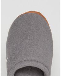 Ralph Lauren - Gray Jaque Scuff Slippers for Men - Lyst
