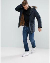 Ben Sherman - Black Zipped High Neck Jumper for Men - Lyst