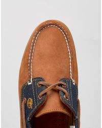 Timberland | Blue Classic Denim Boat Shoes for Men | Lyst