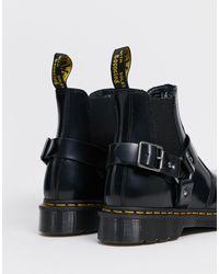 Черные Ботинки Челси Wincox-черный Dr. Martens для него, цвет: Black