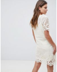 Bellfield White Larsa Crochet Lace Dress