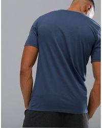 Nike Dry Athlete Logo T-shirt In Blue 739420-471 for men