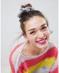 ASOS - Multicolor Design Sequin Scrunchie - Lyst
