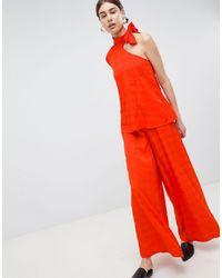 Pantalones ASOS de color Red