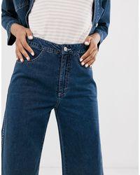 Jeans corti di Weekday in Blue