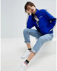 Adidas Blue Originals Iconics Woven Taped Track Jacket
