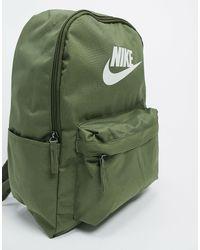 Рюкзак Цвета Хаки С Логотипом Heritage 2.0-зеленый Nike для него, цвет: Green