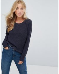 ONLY - Black Geena Knit Jumper - Lyst