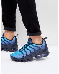 Air Vapormax Plus Nike pour homme en coloris Bleu - Lyst