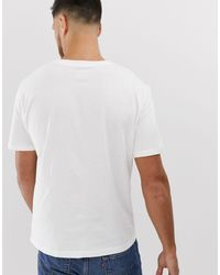 Athletics - T-shirt bianca di New Balance in White da Uomo