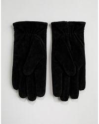 Barneys - Gants en daim Barney's Originals pour homme en coloris Black