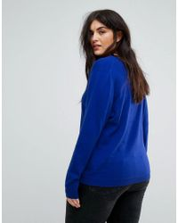 Elvi Cobalt Blue Sweater