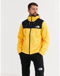 1990 Mountain Q - Giacca gialla di The North Face in Yellow da Uomo
