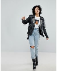 The Ragged Priest Black Label Leather Jacket