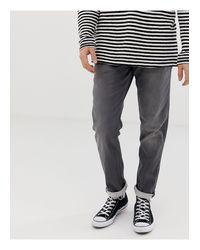 TIM LEON - Jeans skinny di Jack & Jones in Gray da Uomo