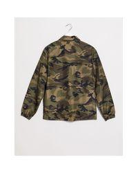 Brave Soul Green Harrington Jacket for men