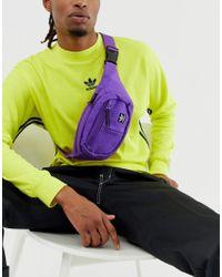 Фиолетовая Сумка-кошелек На Пояс Adidas Originals для него, цвет: Purple