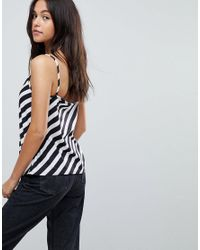 PRETTYLITTLETHING - Multicolor Striped Cami Top - Lyst
