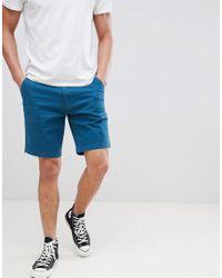 Tokyo Laundry Blue Chino Shorts for men