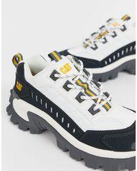 Sneakers chunky bianco campana di Caterpillar in White da Uomo