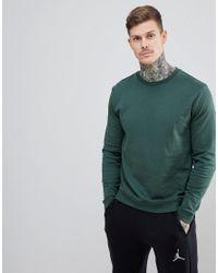 ASOS Sweatshirt In Green for men